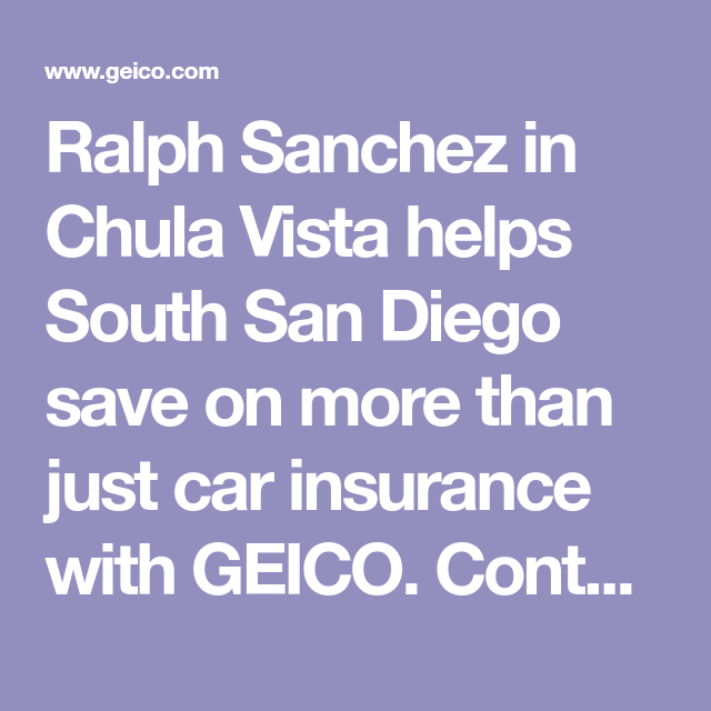 Ralph Sanchez In Chula Vista Helps South San Diego Save On More