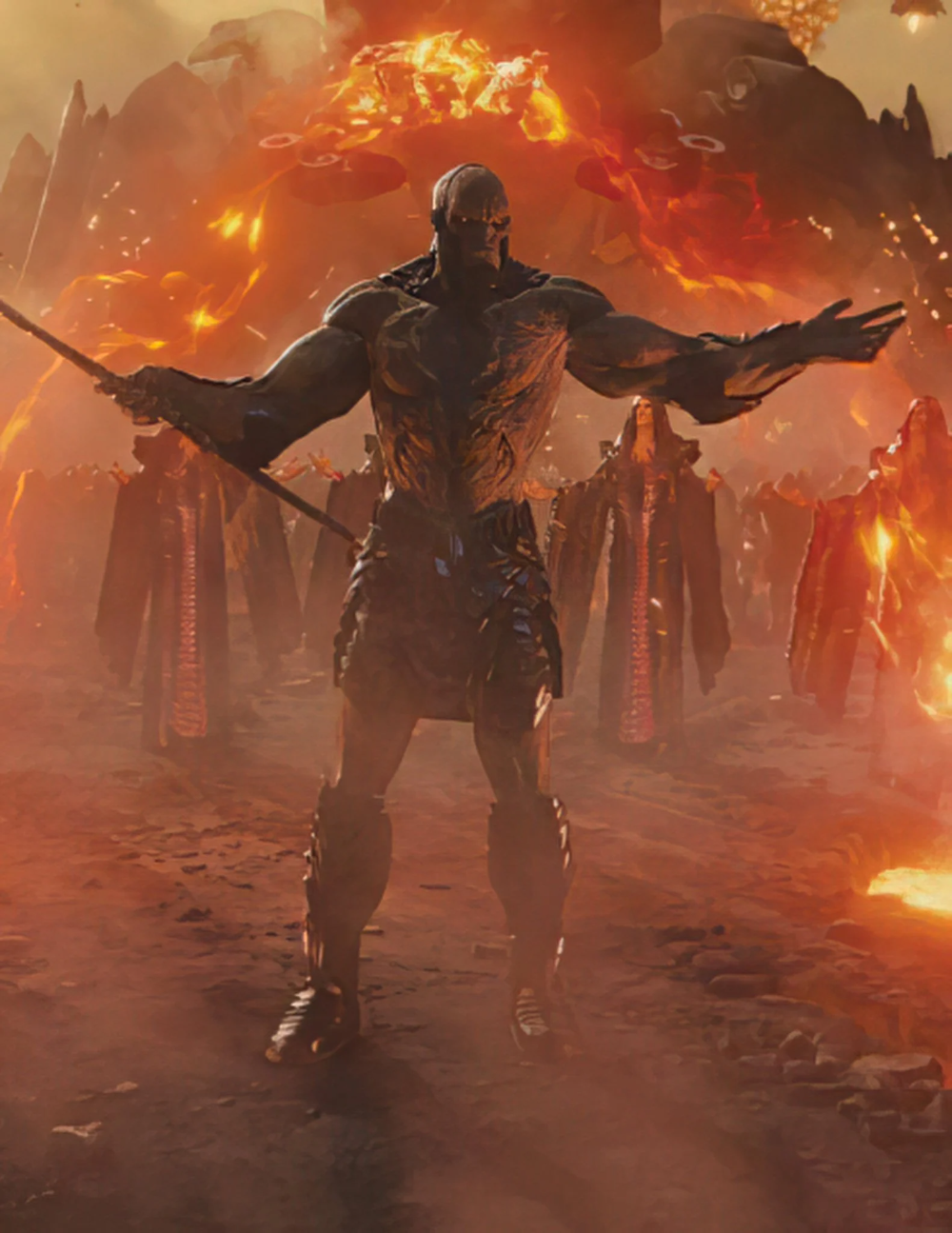 New Zack Snyder S Justice League Images From The Upcoming Film In 2021 Darkseid Dc Comics Wallpaper Justice League Art