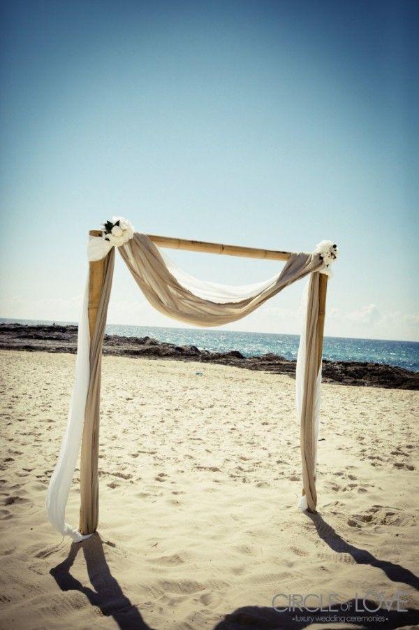 Currumbin Beach Wedding Gold Coast Arch Decor Loveitsomuch