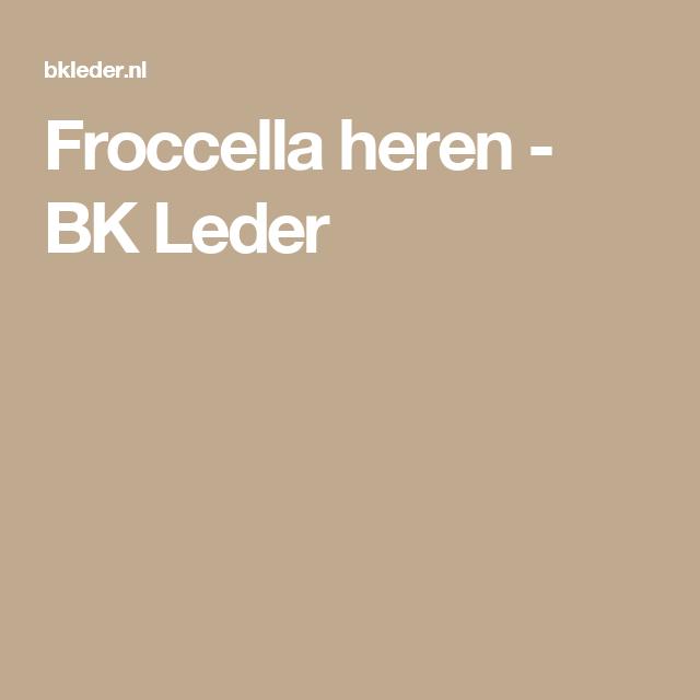 Froccella heren BK Leder | Jassen, Heren, Modebewust