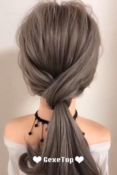 Super Easy Hairstyle Tutorial