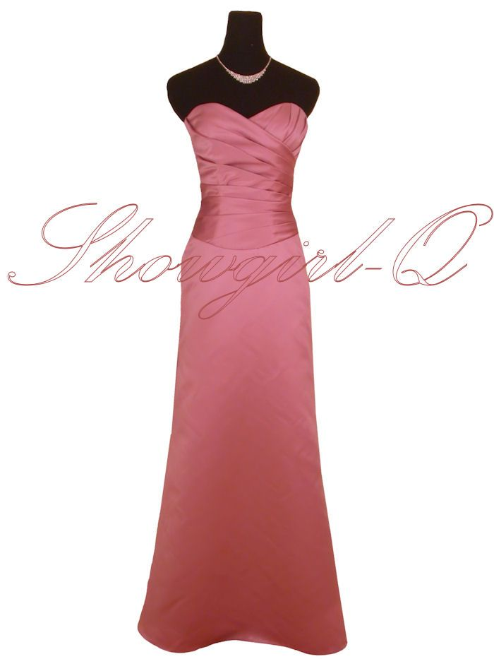 Dusty pink satin | Gowns | Pinterest | Dusty pink, Pink satin and Satin