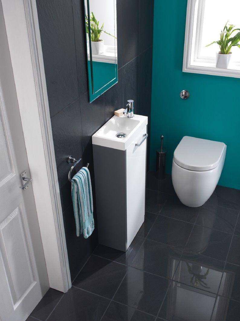 cloakroom design ideas tiles - Google Search | Tiny bath | Pinterest ...