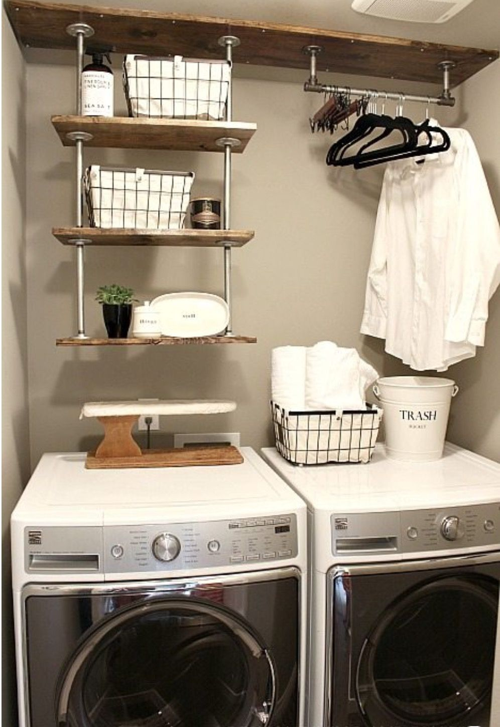 A place to hang hand washables | For the Home | Pinterest | Laundry ...