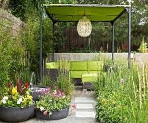 Simple Terrace Garden