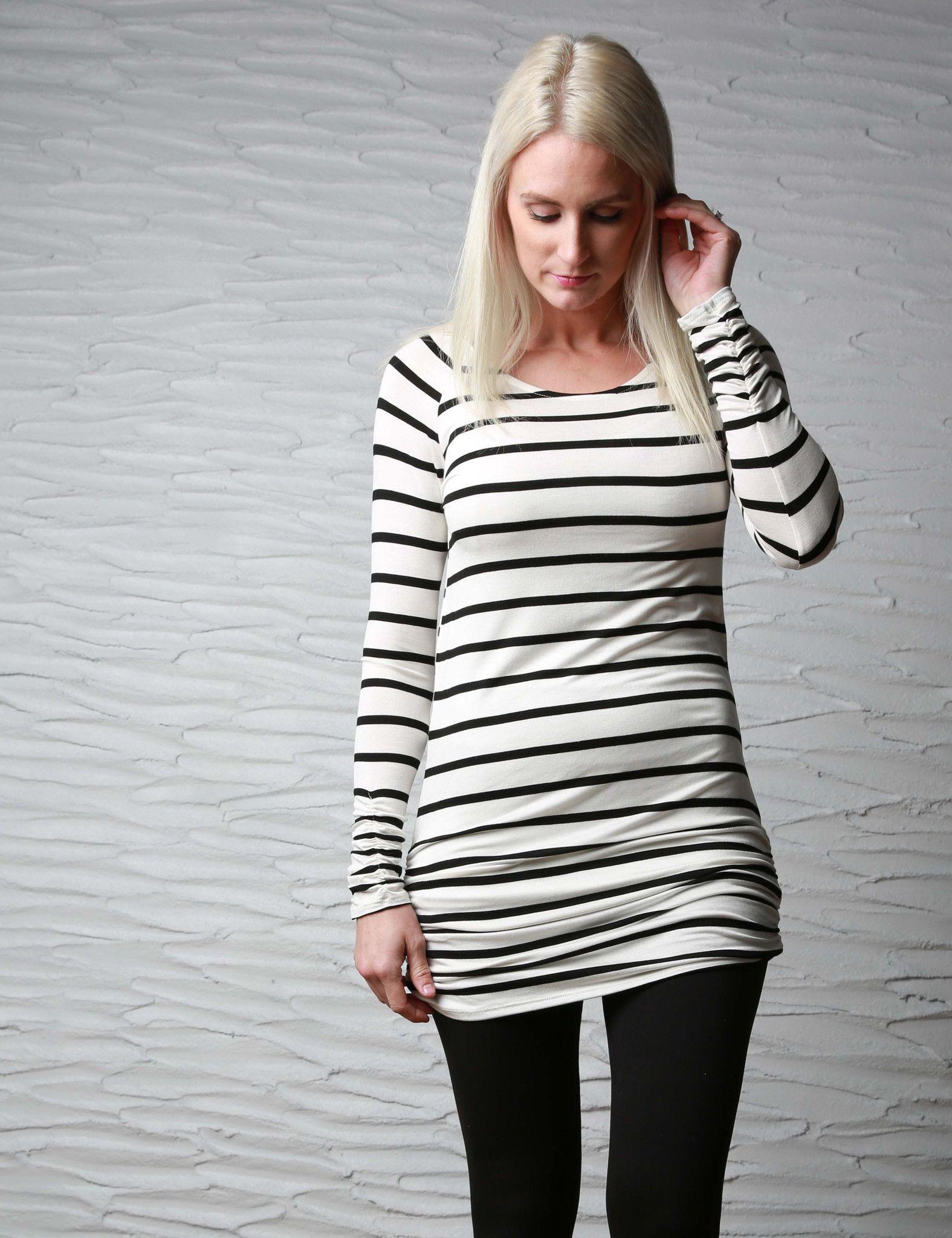 Sadie Stripes Tunic