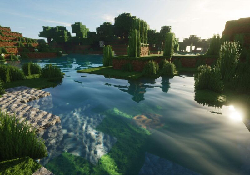 Watch this 30minute live play shows off Minecraft's 'ray