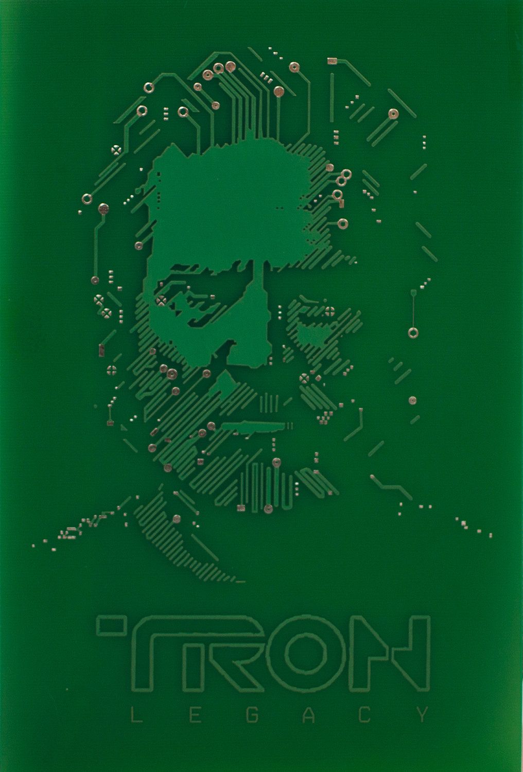 Flynn Lives Real Printed Circuit Board Pcb Art And Photographs How To Create A With Printer Photo Tron 1499 Via Etsy