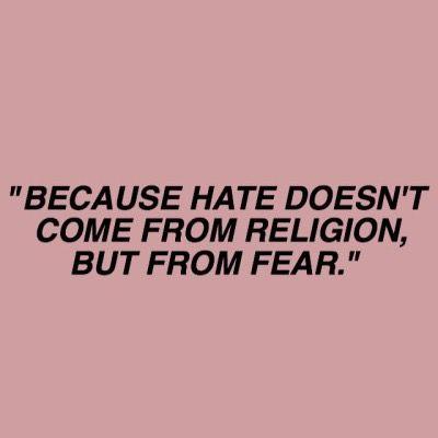 """""""Fordi hat kommer ikke fra religion, det kommer fra frykt""""   Sana   SKAM sesong 3"""