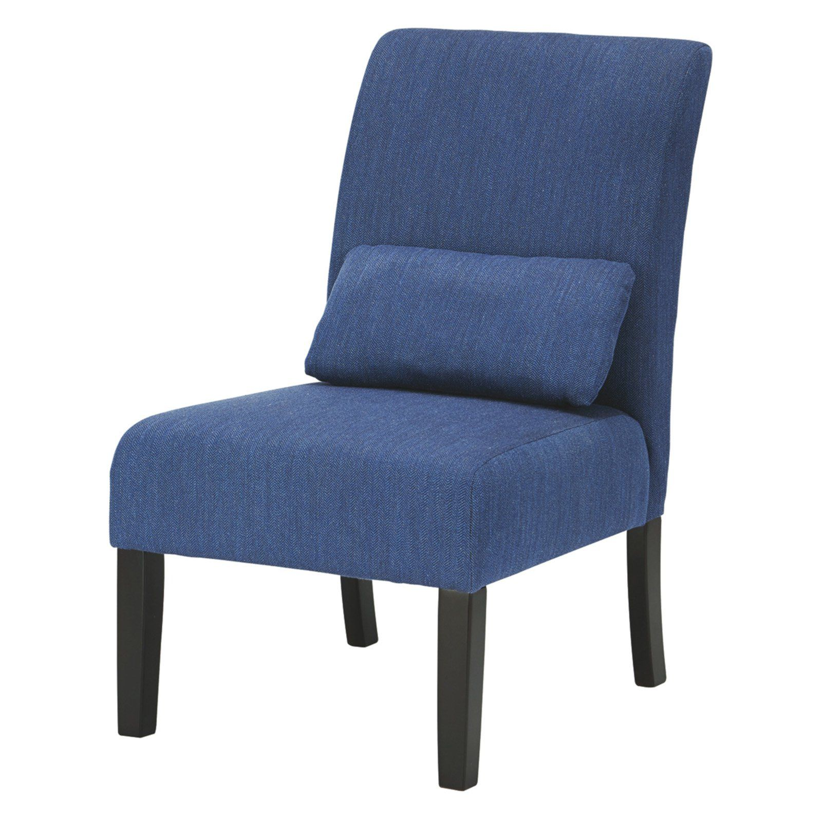 Signature Design By Ashley Sesto Fabric Accent Chair Blue Blue