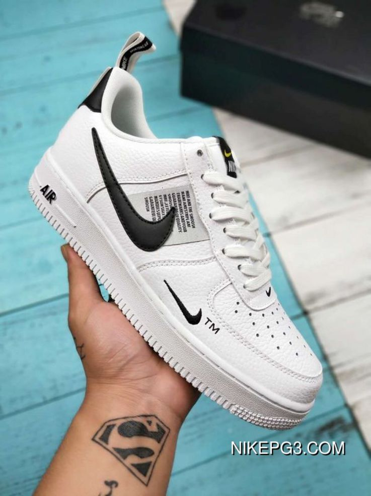 WomenMen Copuon Nike Air Force One07 Af1 One Low Casual
