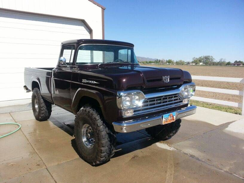 1960 Ford F 100 4x4 Ut Fun With Images Vintage Pickup Trucks
