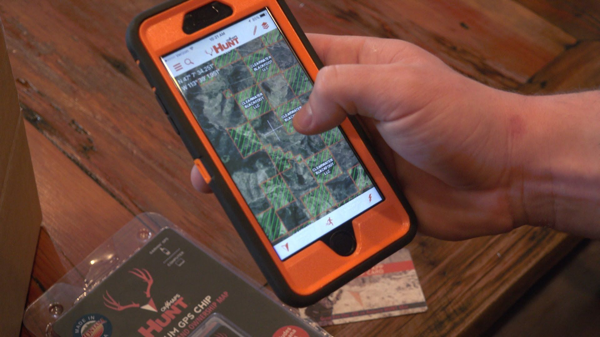 Delivered from our office to your hands. Gps, Hunt