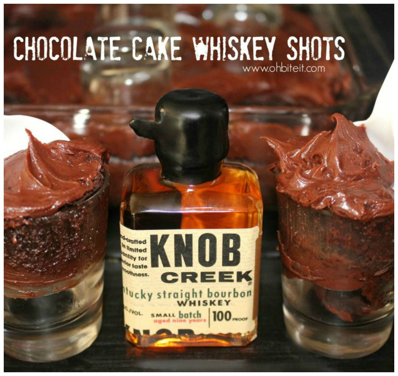 Chocolate Cake Whiskey SHOTS cocktail recipes Pinterest