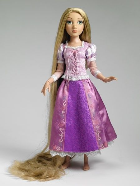 Rapunzel With Her Gorgeous Long Hair By Tonner Doll Tonner
