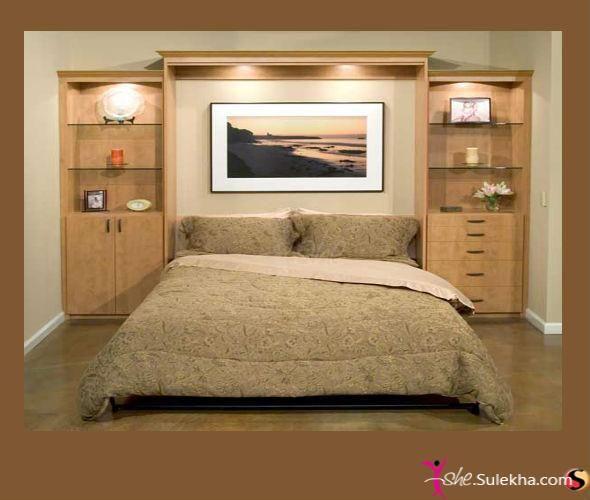 Awesome Headboard Wall Unit Idea Murphy Bed Diy Modern Murphy
