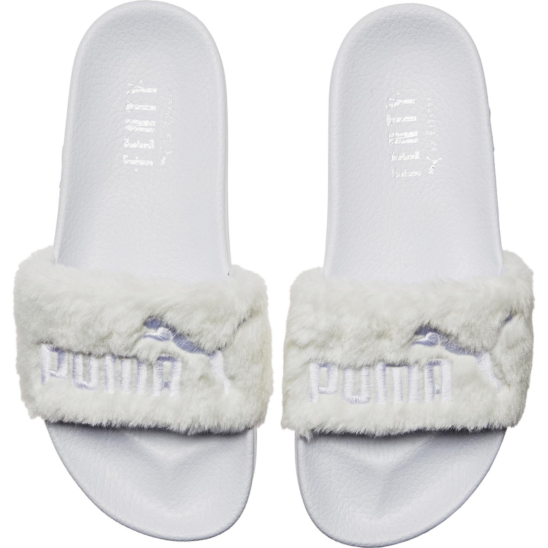 super popular 74299 a7468 Puma LeadCat Fenty Slide White | Products | Shoes, Fashion ...