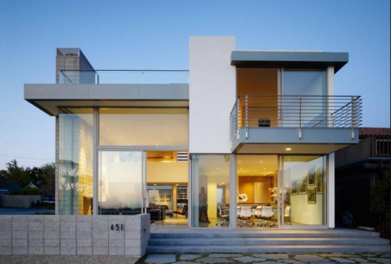 Desain Rumah Minimalis 2 Lantai Type 36 72 Terbaru Rumah Arsitektur Modern Denah Rumah Rumah Arsitektur