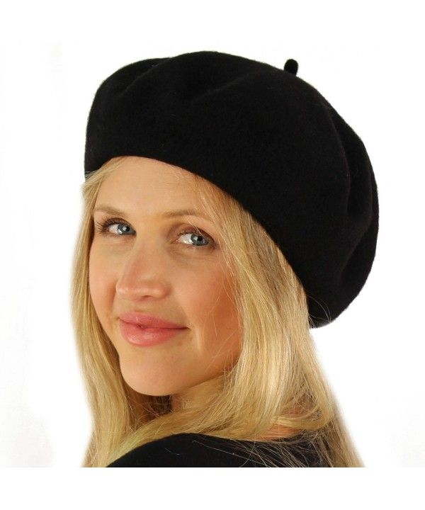 f87f588d1adaa Classic Winter 100% Wool Warm French Art Basque Beret Tam Beanie Hat ...