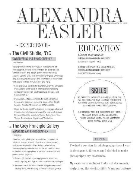 Loft Resume The New Yorker Good Resume Examples Resume Design Resume Examples
