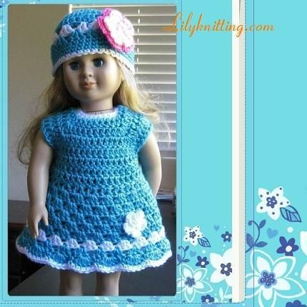 Awesome Free Crochet Doll Clothes Patterns For 18 Inch Dolls