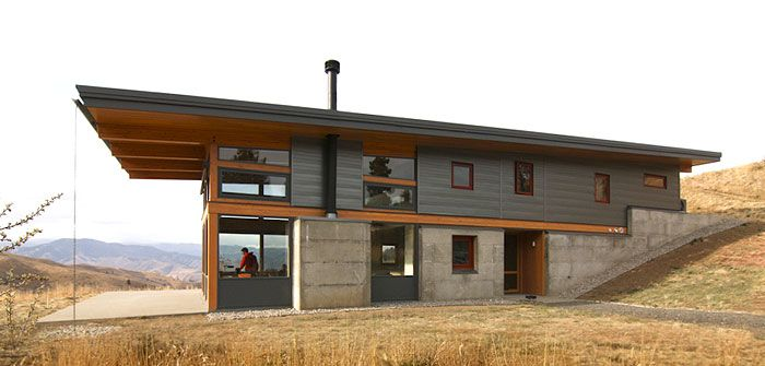 Nahahum Canyon Cabin By Balance Associates Architects Http Www Balanceassociates Com Sustainable House Design Architecture Small House Design