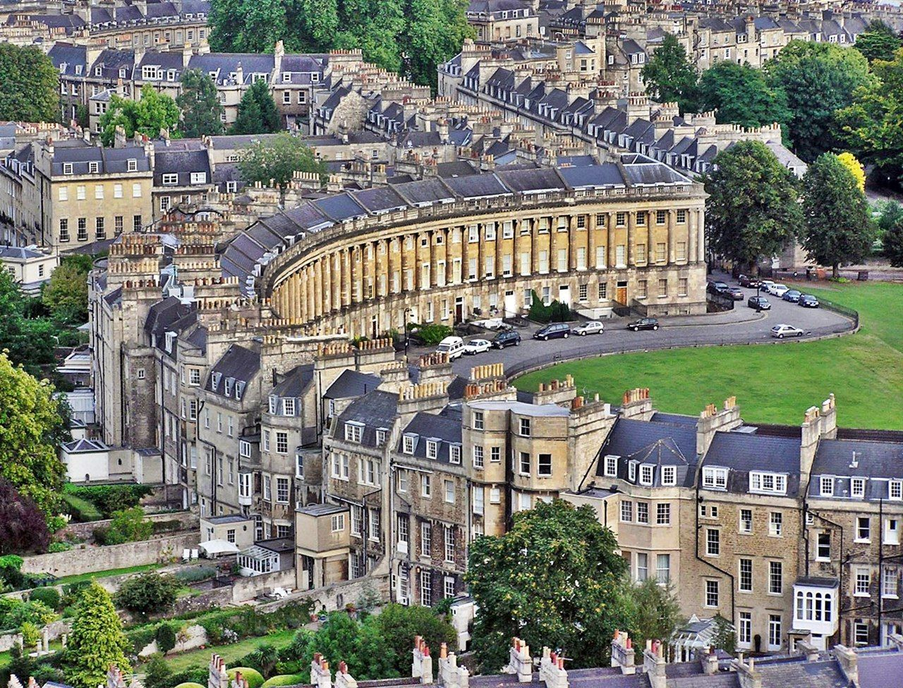 Merveilleux Visit Bath, England And One Of Its Main Attractions The Royal Crescent  Credit To Http