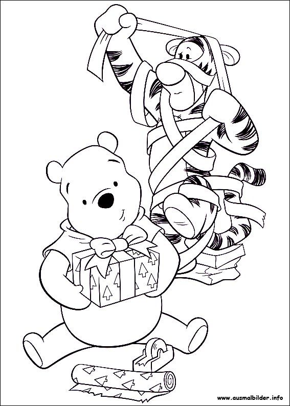 Weihnachten Unter Freunden Malvorlagen Christmas Coloring Pages Disney Coloring Pages Cute Coloring Pages