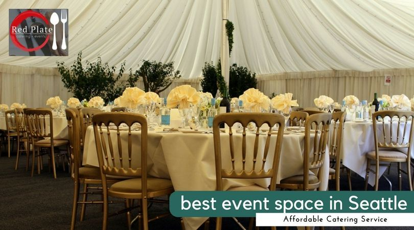 Redplate Catering services organize the best event space