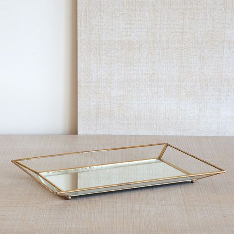 CRYSTAL TRAY WITH GOLDEN EDGES   Decoration Accessories   Decoration | Zara  Home Jordan