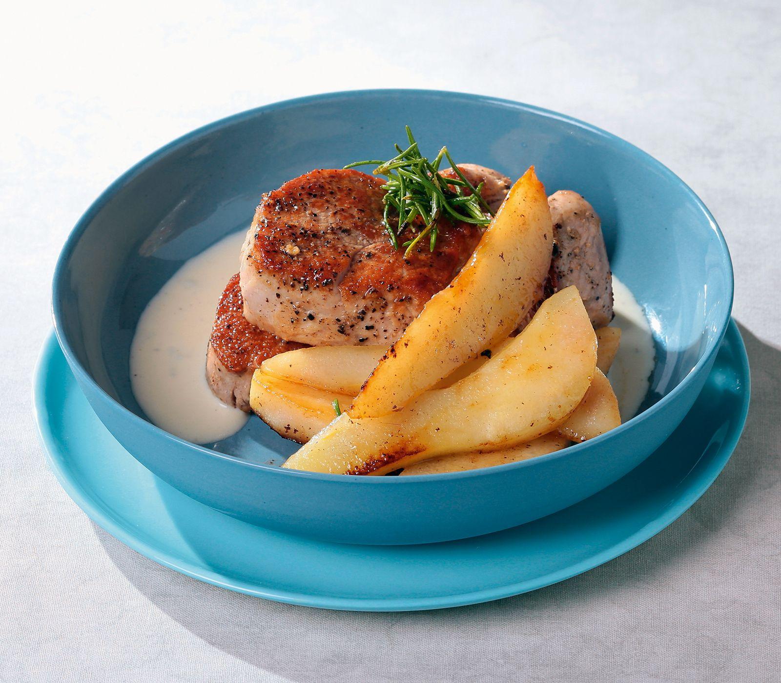 Birne und Gorgonzola ergänzen sich geschmacklich perfekt und sind deshalb ein beliebtes Paar in der Küche – das freut uns.