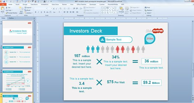 Investor deck powerpoint template this free powerpoint template investor deck powerpoint template this free powerpoint template contains a few investor slide designs including toneelgroepblik Image collections