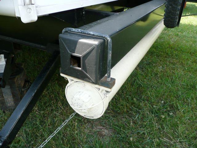 RV sewer hose storage - ruggedthug & RV sewer hose storage - ruggedthug | RV Hacks | Pinterest | Hose ...