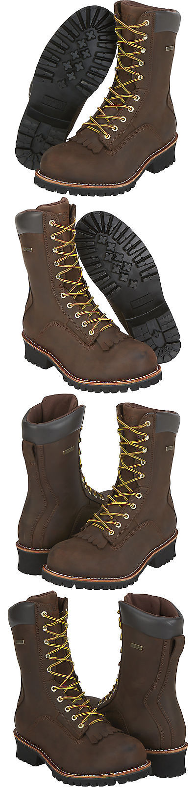 1c132aac4be Boots 11498: Gravel Gear 10In Waterproof Steel Toe Logger Work Boots ...