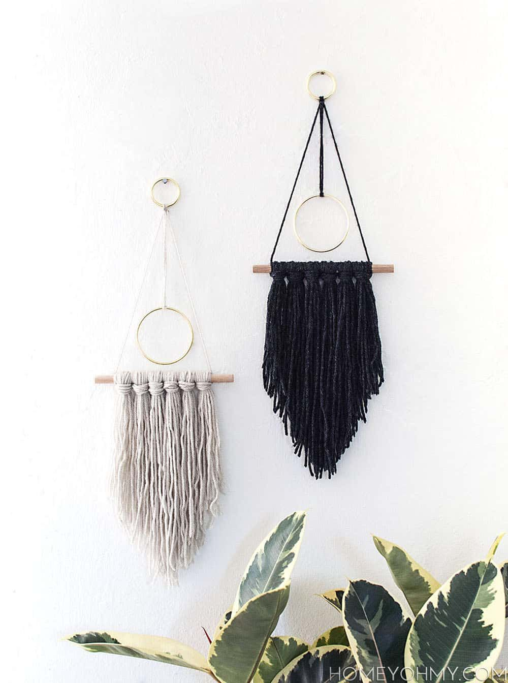 Easy and Simple DIY Wall Hanging Ideas | Decorating, Walls and Craft