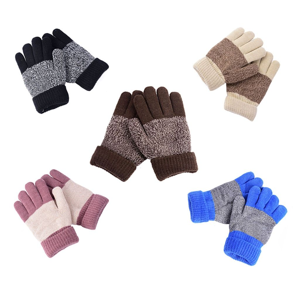 ab72ba112c5 Winter Warm Gloves Kid Child Mittens Five Finger Gloves School Gloves Hot  Selling  Affiliate