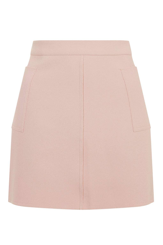 Crepe Pocket Mini Skirt - Skirts - Clothing - Topshop Europe