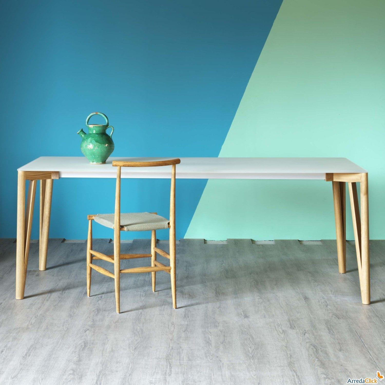 table de salle à manger moderne et de design decapo - arredaclick ... - Consolle Byblos Tavolo Allungabile Legno Massello
