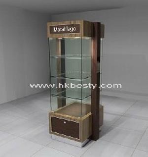 Jewelry Display Showcase And Jewelry Storage Display Cabinet With Glass  Mirror