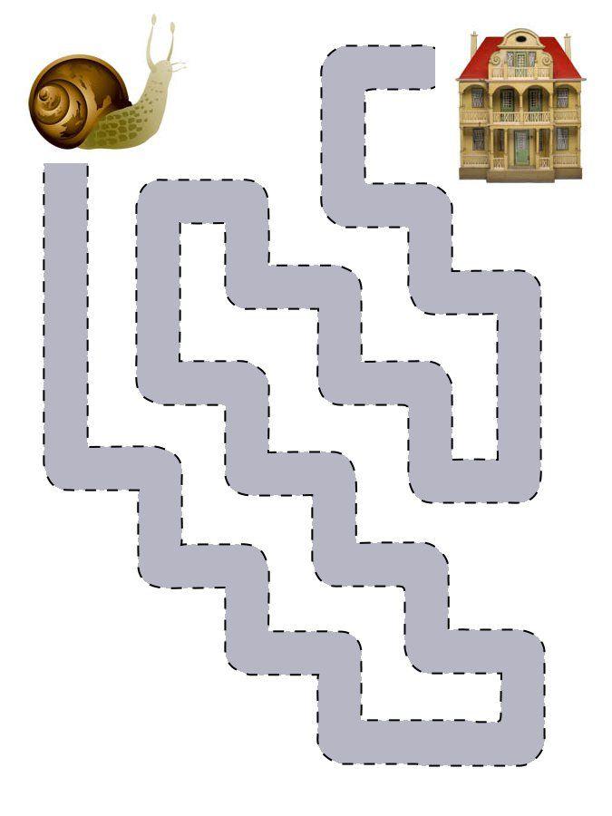 level1 von 5 labyrinth talent handgeschick vorschulkinder vorschule und schnecken. Black Bedroom Furniture Sets. Home Design Ideas