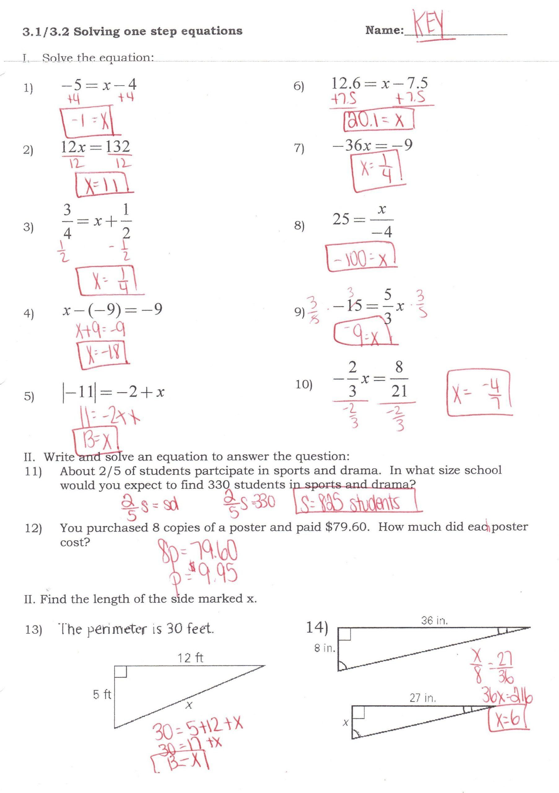 Absolute Value Inequalities Worksheet Answers 43 Simple