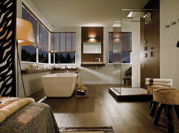 Idée décoration Salle de bain \u2013 idée déco salle de bain bois et