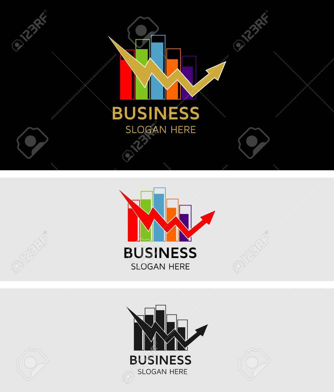 Business Stock Market Logo Ad Stock Business Logo Market Illustrator Inspiration Logos Art Inspiration