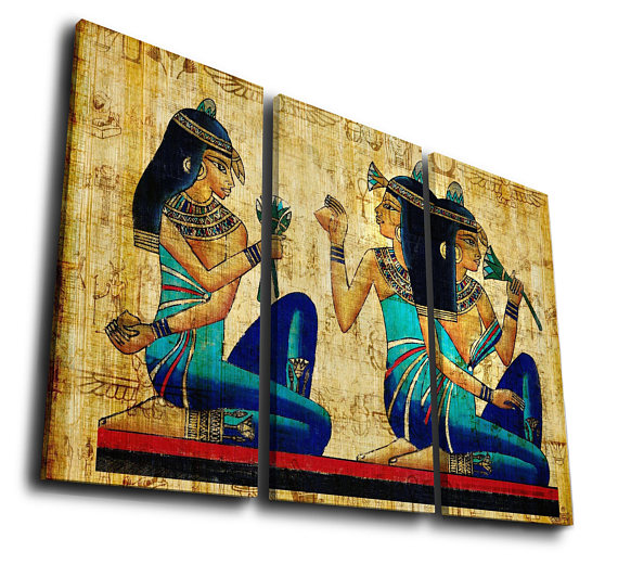 Art of ancient Egypt Painting Printed Canvas Wall Art Picture | Art ...
