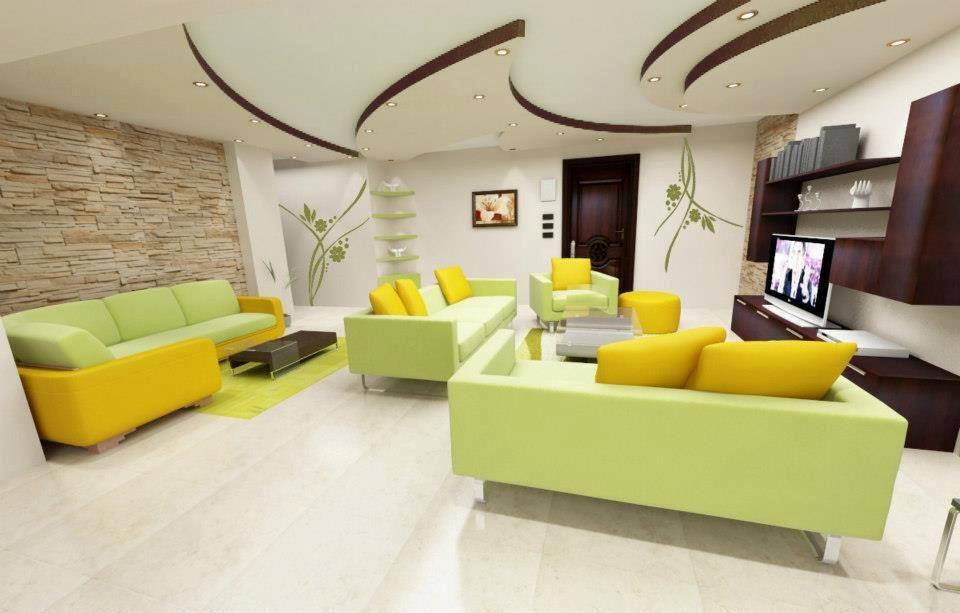 Colori pareti casa decorazioni d 39 interni personalizzate for Pitture per saloni