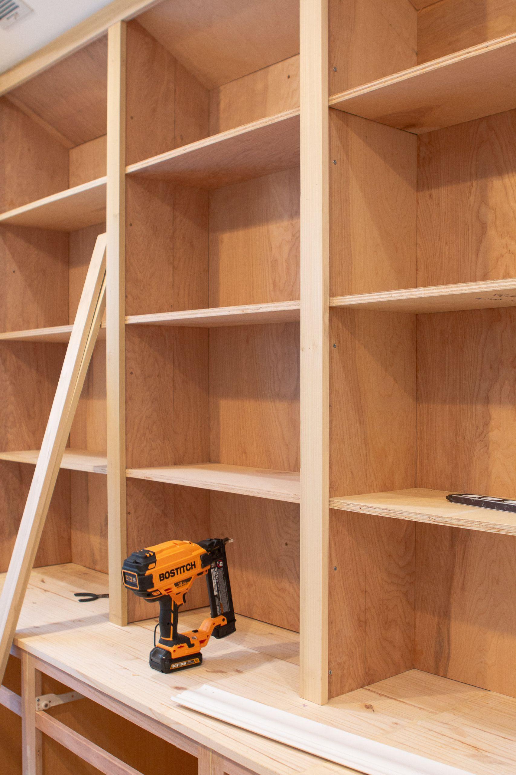 25++ Diy built in bookshelves inspirations