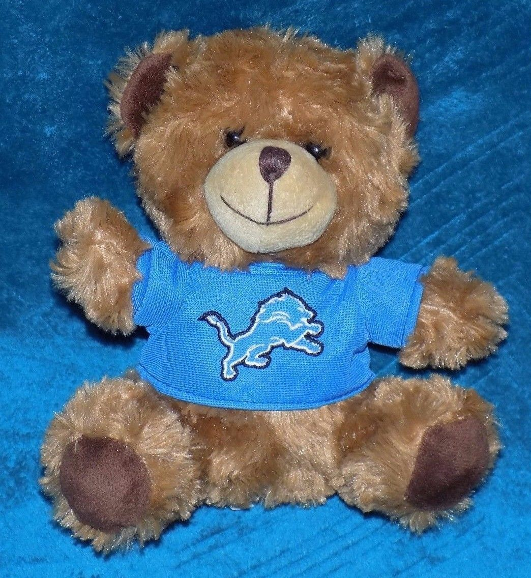 Teddybears Teddy Bears Detroit Lions Football Teddy Bear Stuffed