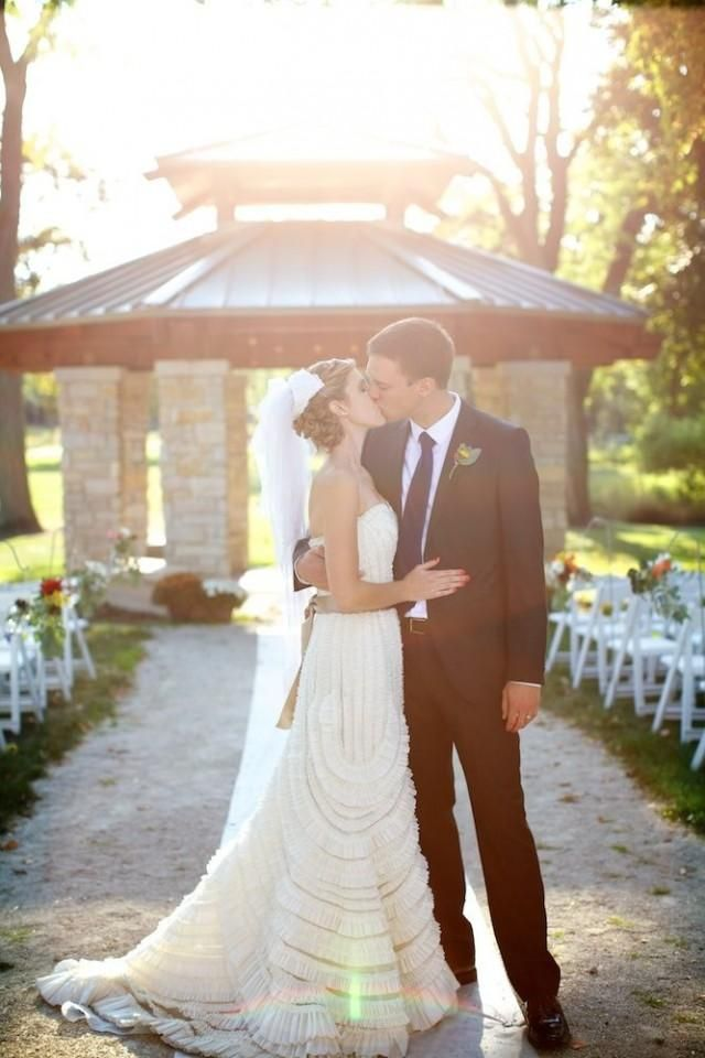 Weddbook is a content discovery engine mostly specialized on wedding concept. You can collect images, videos or articles you discovered  organize them, add your own ideas to your collections and share with other people - Bring on the Romance: 7 Sweet, Ruffled Wedding Ideas for Ultra-Feminine Brides