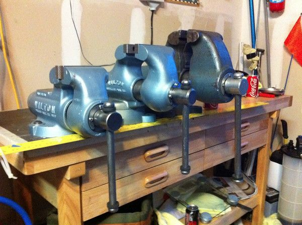 Vintage Bench Vise Made In Usa