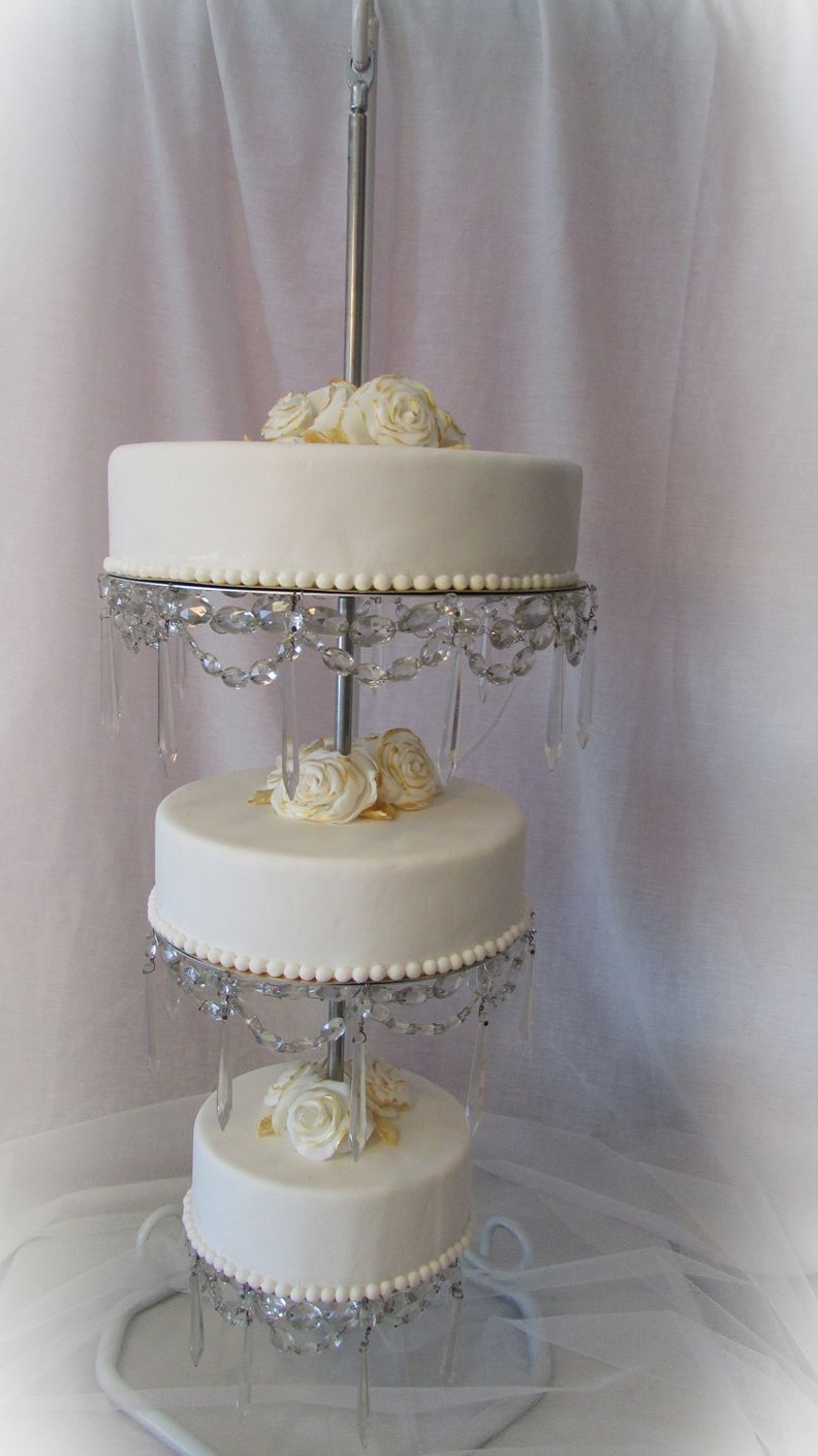 Hanging Chandelier Cake